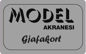 Gjafakort Model
